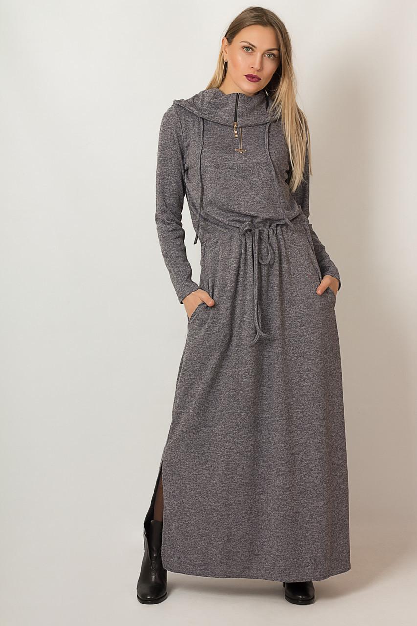 Платье LiLove р1291 54 серый