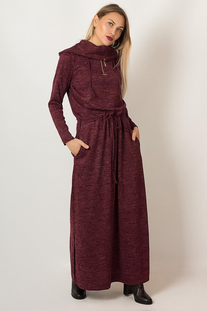 Платье LiLove р1291-1 54 бордовый