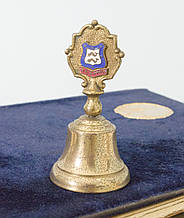 Старий колекційний дзвіночок Brionton, бронза, Англія