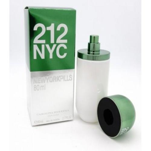 Парфюм женский Carolina Herrera 212 NYC Pills 80 ml