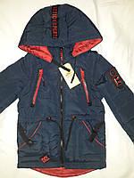 Демисезонная куртка-жилетка (парка) на мальчика, р. 26-36. Опт, дропшиппинг, розница!