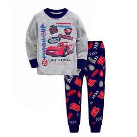 Пижама детская для мальчика  коттоновая  Тачки 2-6 лет