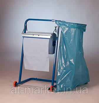 Напольный держатель бумаги SERWO с креплением под мешок для мусора