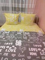 Комплекты постельного белья желтого цвета