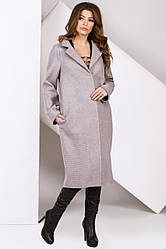 Пальто женское демисезонное PL-8827-25, 42-48р.