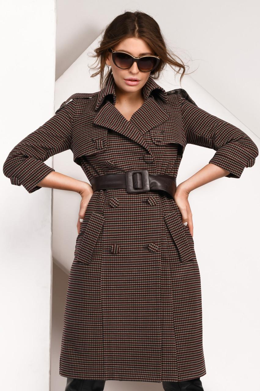 Пальто женское демисезонное PL-8831 | 42-48р.