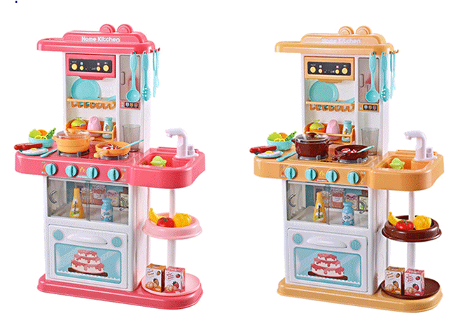 Детская кухня 889-153-154 вода в кране, высота 72см