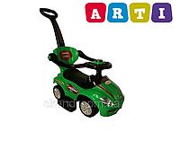 Машинка-каталка ARTI (Оригинал) Mega Car Deluxe зеленый цвет