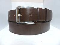 Джинсовый кожаный ремень 4.5  см