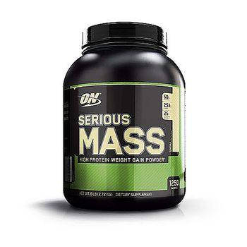 Гейнер Optimum Nutrition Serious Mass 2,7 кг, фото 2