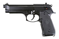 Пистолет Beretta M92 v.2 GBB Black Full Metal