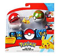 Игровой набор POKEMON - ПОЯС С ПОКЕБОЛАМИ ПИКАЧУ Pokemon 96409, фото 1