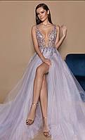 Вечернее платье юбка шифон