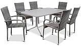 Набір меблів з штучного ротангу FIESTA / AVENUE 6 крісел + 1 стіл, фото 3