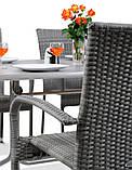 Набір меблів з штучного ротангу FIESTA / AVENUE 6 крісел + 1 стіл, фото 6
