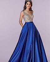 Вечернее платье юбка атлас