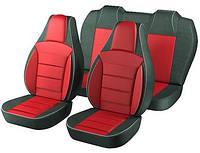 Автомобильные чехлы для авто для сидений Авто чехлы накидки майки Пилот на Lanos (Ланос) sens