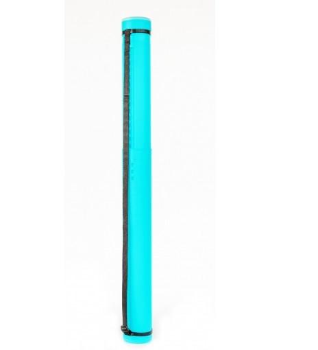 """Тубус телескопический, пластиковый, раздвижной """"Santi"""" диаметр 8,5 см, длина 65-110 см. цвет мятный."""