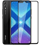 Силіконовий чохол з квітами для Huawei Honor 8X / Скла в наявності, фото 7
