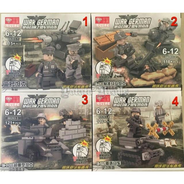 Фигурки немецкие военные спецназ лего lego вермахт сс солдаты swat