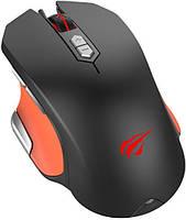 Миша дротова HAVIT HV-MS762 GAMING USB black/orange, фото 1
