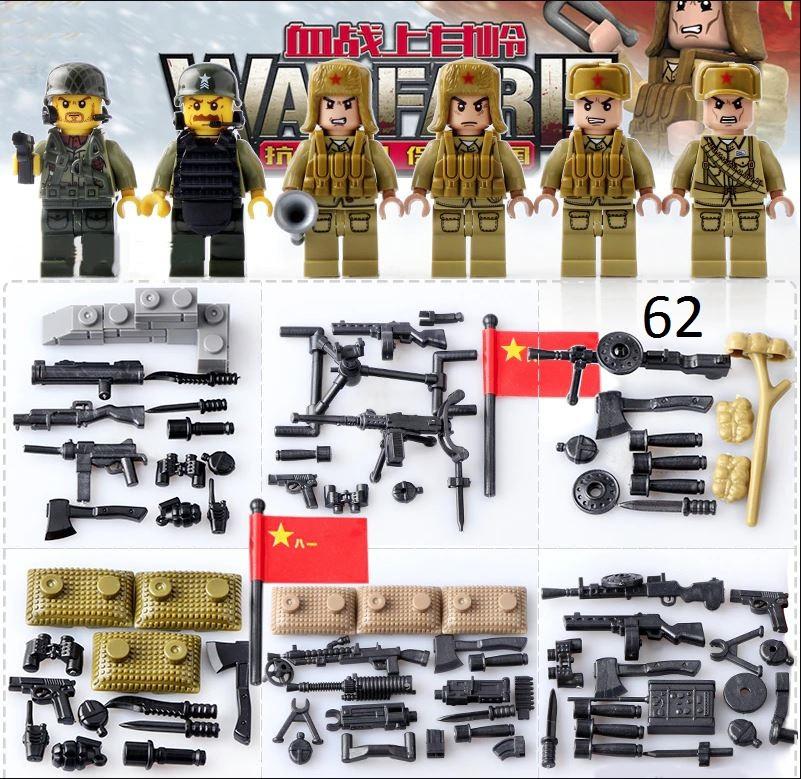 Фигурки СССР советские военные  и американские солдаты холодная война спецназ лего Lego BrickArms