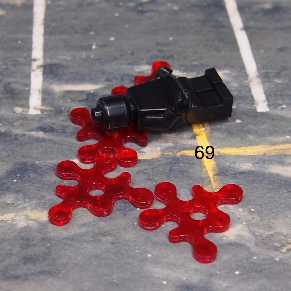 Имитация крови Лего Lego SWAT спецназ военнослужащие армия НАБУ