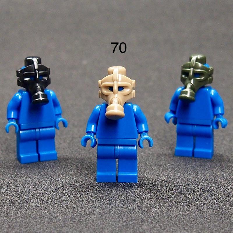 Противогаз для минифигурок Лего Lego swat спецназ военные солдаты