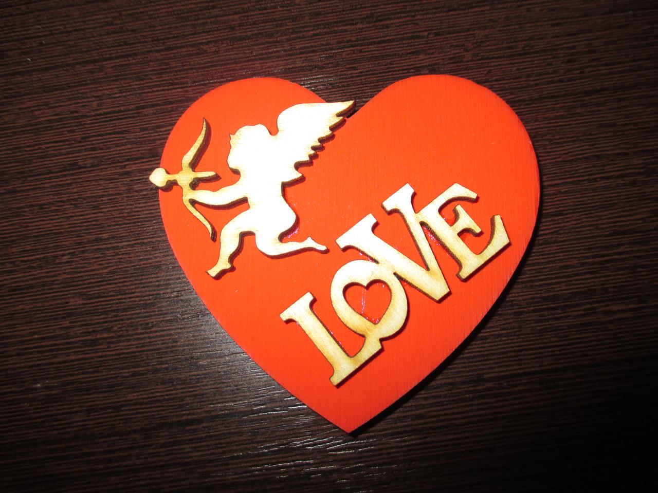 Магнит к дню влюбленных