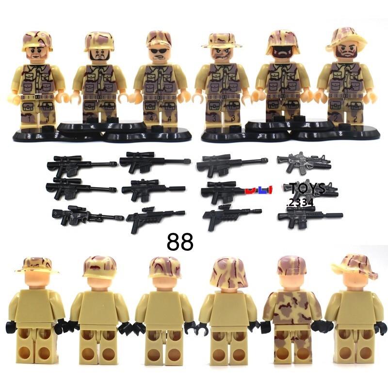 Фигурки SWAT спецназ военные армия лего Lego BrickArms
