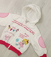 Детская  демисезонная ветровка для девочки размер 68 (6 месяцев)