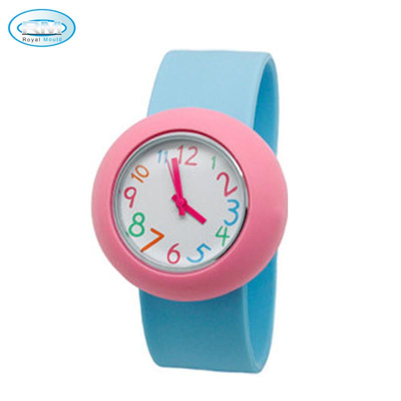 Силиконовые детские наручные часы