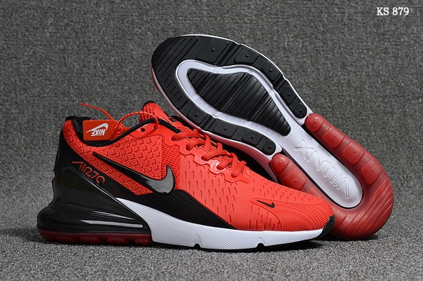 Мужские кроссовки Nike Air Max Flair 270 (красные)