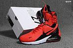 Мужские кроссовки Nike Air Max Flair 270 (красные), фото 2