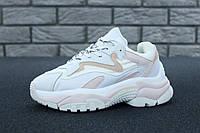 Кроссовки женские Ash Addict Sneakers реплика ААА+ (нат. кожа) размер 39 белый (живые фото)