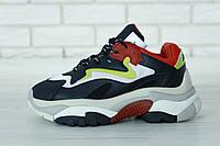 Кроссовки женские Ash Addict Sneakers реплика ААА+ (нат. кожа) размер 36-39 черный (живые фото)