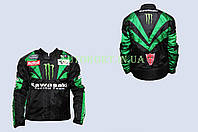 Мотокуртка   KAWASAKI   (текстиль) (size:S, MONSTER ENERGY)