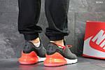 Мужские кроссовки Nike Air Max 270 (серо/оранжевые), фото 2