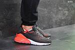 Мужские кроссовки Nike Air Max 270 (серо/оранжевые), фото 5