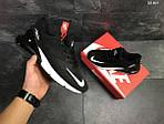 Мужские кроссовки Nike Air Max 270 (черно/белые), фото 2