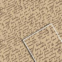 Упаковочная крафт бумага для цветов и подарков УП - Письмо по диагонали