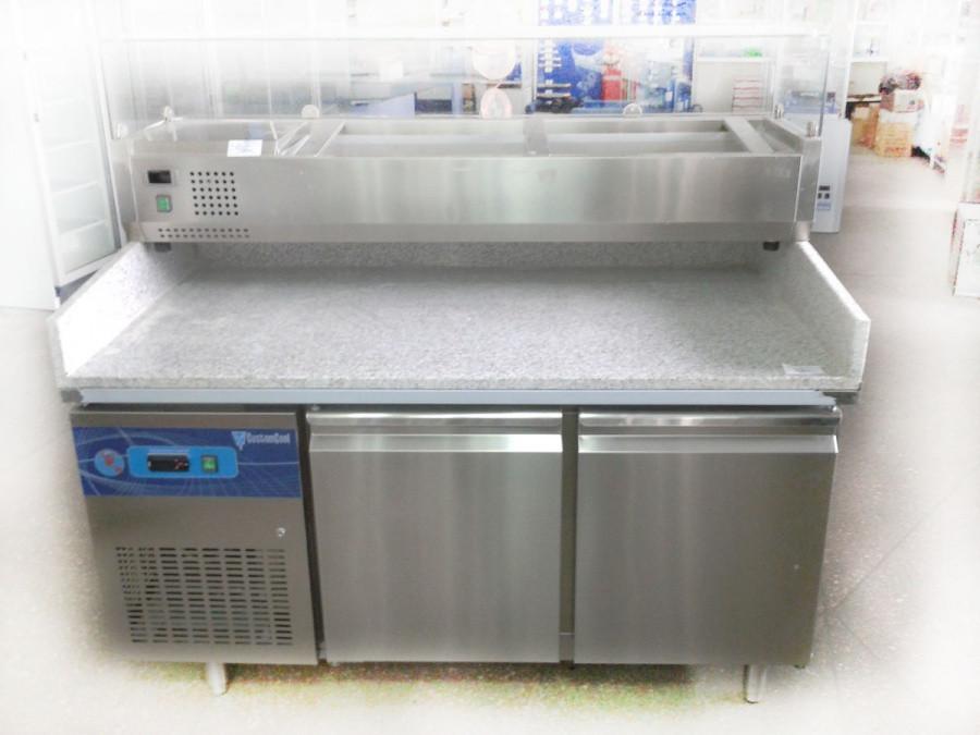 Стол холодильный для пиццы CCPZ800-1500 CustomCool 5060029