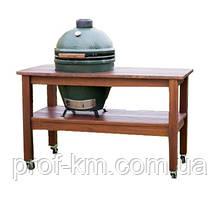 Довгий стіл для Big Green Egg Large (Махагон)