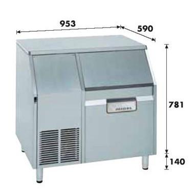 Льдогенератор чешуйч. 165кг/сутки KF-185A Migel 2090003