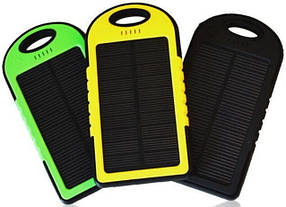 Портативное зарядное устройство Power Bank SOLAR 30000mAh с солнечной зарядкой, фото 2