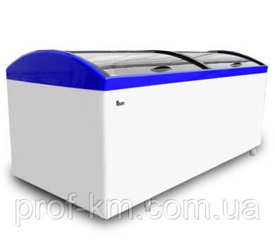 Ларь морозильный с гнутым стеклом Juka М1000 V