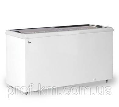 Ларь морозильный с прямым стеклом Juka M 200 P