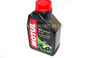 Масло   2T, 1л   (полусинтетика, 510, API TC, JASO MA M033MOT058)   MOTUL   (#104028)
