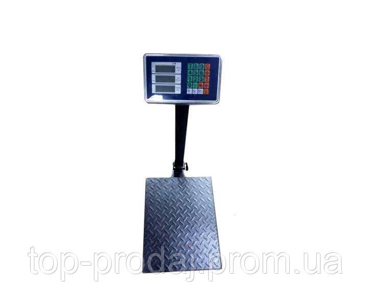 Весы ACS 1000KG 60*80, Торговые весы, Торговые весы с усиленной платформой, Весы аккумуляторные с платформой