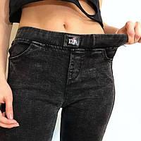 Джеггинсы джинсы подростковые утепленные для девочек 6-13 лет